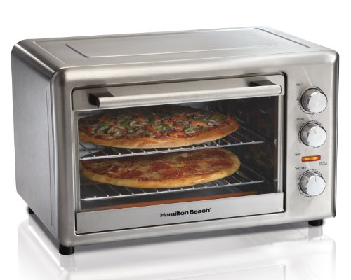 Hamilton Beach 31103A Countertop Oven with Convection and Rotisserie (Sheet Cookie Traditional)