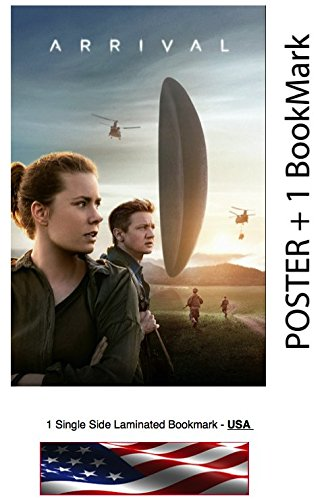 ARRIVAL (2016) - Movie Poster, Size: 24 x 36' - Amy Adams, Jeremy Renner