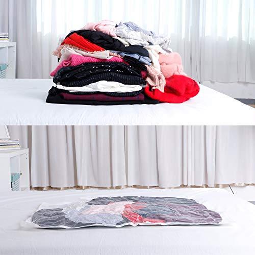 paqi Viaje Bolsas De Vacío Transparente vacío bolsa de almacenamiento Anti de zerreißen vacío bolsas ruedas per mano bolsas para almacenar ropa ropa de cama ...