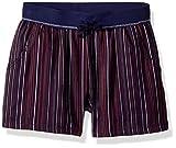 Splendid Big Girls' Chambray Shorts, Navy Stripe, 14