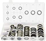 Swordfish 32241 Automotive Self-Centered Bonded Seal/Gasket Assortment, 150 Piece