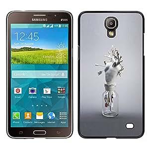 Stuss Case / Funda Carcasa protectora - Corazón Anatomía Arte Moderno Blanco Amor - Samsung Galaxy Mega 2