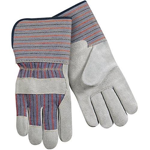 Steiner SPC13K-L Leather Palm Work Gloves, Slightly Select Shoulder Split cow Kevlar Sewn, Soft Lined Palm, 4-Inch Cuff, Large (12-Pack) ()