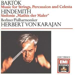 bela bartok paul hindemith herbert von karajan berliner philharmoniker berlin philharmonic