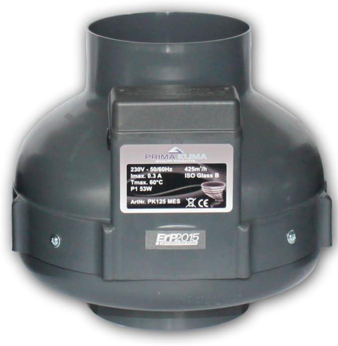 Extractor Prima Klima 125mm 440m3/h 1 velocidad