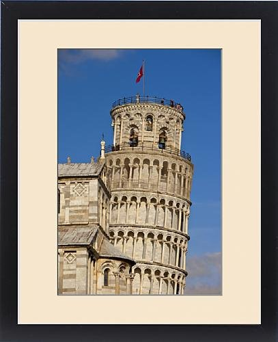 Framed Print of Pisa s Leaning Tower, Tuscany Italy by Fine Art Storehouse