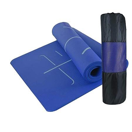 KYCD - Esterilla de Yoga NBR con Sistema de alineación ...