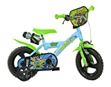 Dino Bikes 123GL-HSH 12-Inch Half Shell Heroes Bicycle