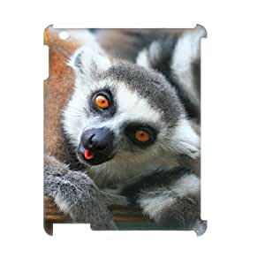 EZCASE Lemur Phone Case For IPad 2,3,4 [Pattern-1]