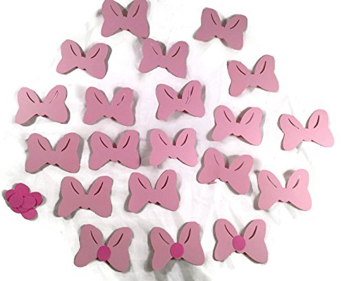 Disney Minnie Mouse Pink Bow Die Cuts Set 2-inch
