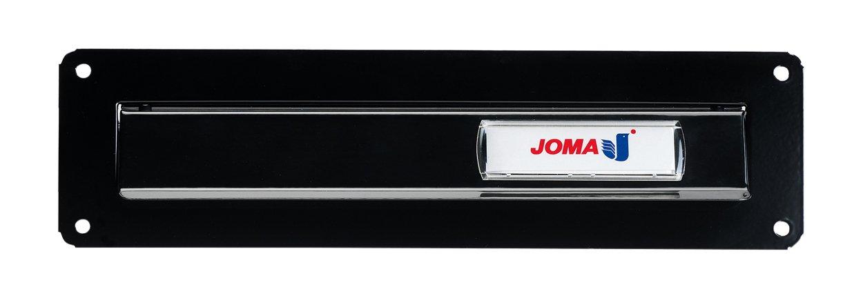 Joma LP09113 Letter Plate - Black