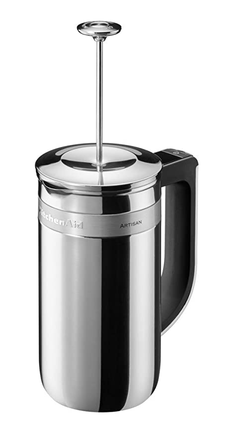 KitchenAid 5KCM0512ESS - Cafetera (Independiente, Prensa eléctrica ...