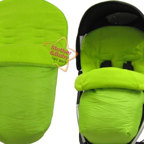 ZETA Lite Footmuff - LIME BABY TRAVEL