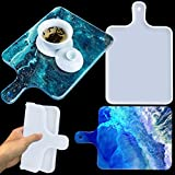 Large Silicone Resin Mold, Tray Molds for Epoxy Resin Casting, DIY Resin Serving Tray, Resin Cutting Board, Rolling Molds for Home Decoration