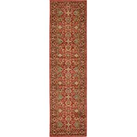 Unique Loom Heritage Collection Red 3 x 10 Runner Area Rug (2 7 x 10)