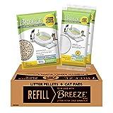 Purina Tidy Cats Cat Litter Box Accessories; BREEZE Refill Litter Pellets & Cat Pads Multi Cat Litter - 7.91 lb. Pouch