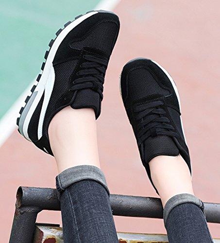 de Primavera tama 2018 Blanco Zapatillas Zapatillas de 38 Deporte Color Zapatillas para oto o Zapatillas o Verano Zapatillas de Deporte Mujeres Bajas BqqHdX