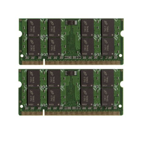 4GB 2X 2GB DDR2 SODIMM PC5300 PC2 5300 667 MHz LAPTOP NOTEBOOK MEMORY ()