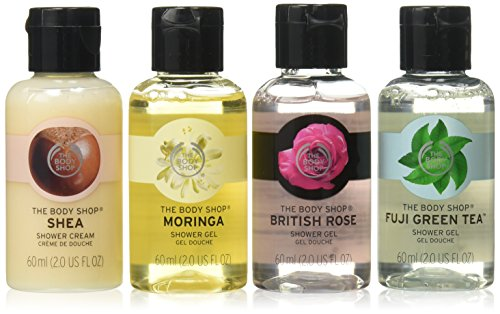 The Body Shop Mini Shower Gel Quad Gift Set