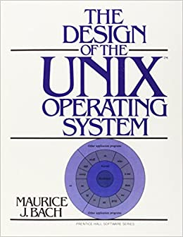 Book The Design of the Unix Operating System (Prentice-Hall Software Series)