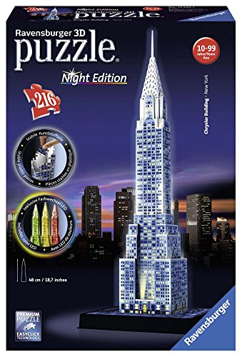 Ravensburger - Chrysler Building   3D Puzzle - Night Edition ()