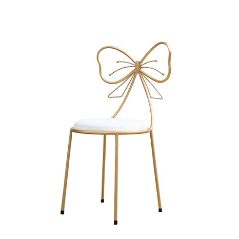 Awesome Amazon Com Flowing Water Simple Modern Style Iron Stool Bow Ibusinesslaw Wood Chair Design Ideas Ibusinesslaworg