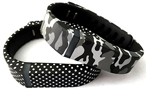 Camouflage Military Fitbit Replacement tracker