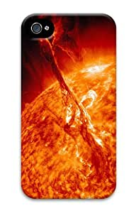 sell case Sun eruption PC Case for iphone 4/4S