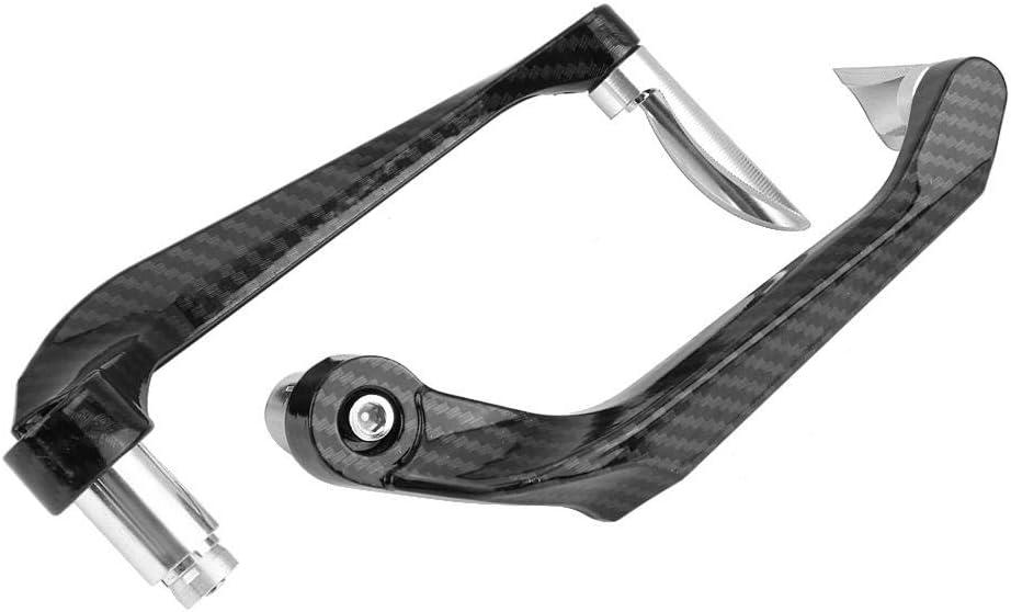 7//8 Kohlefaser Motorrad Bremskupplungshebel Lenker Sch/ützen Schutz Tbest Motorrad Bremskupplungsschutz Rot 1 Paar 22mm
