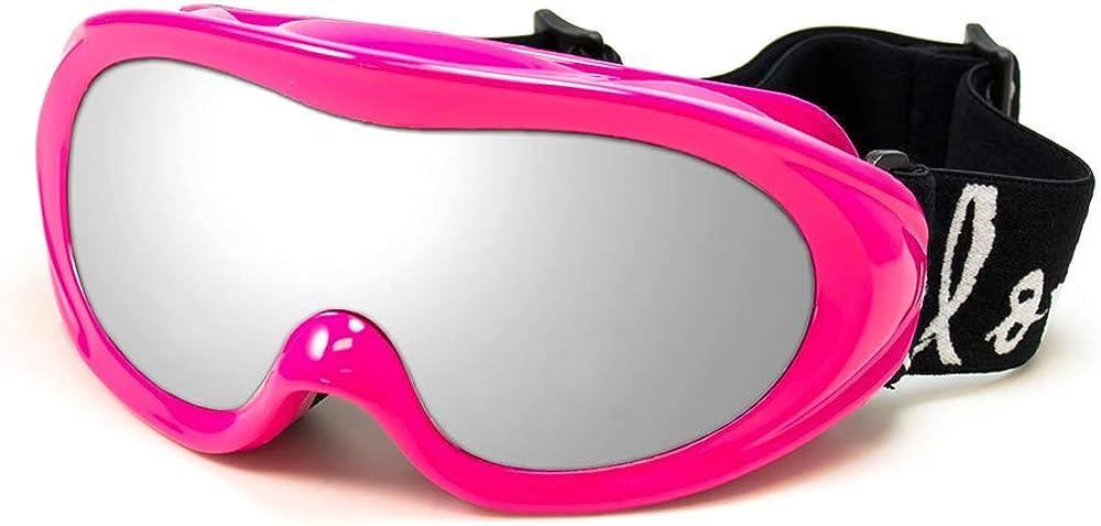 Cloud 9 Women Snow Ski Goggles in Hot Pink Mirror