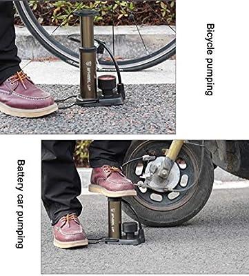 JAY-LONG Bomba De Pie Bicicleta De MontañA Bicicleta EléCtrica ...