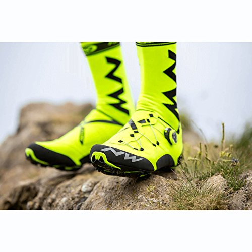 Northwave Scarpe MTB Cross Country Uomo Ghost XC Nero/Giallo Fluo