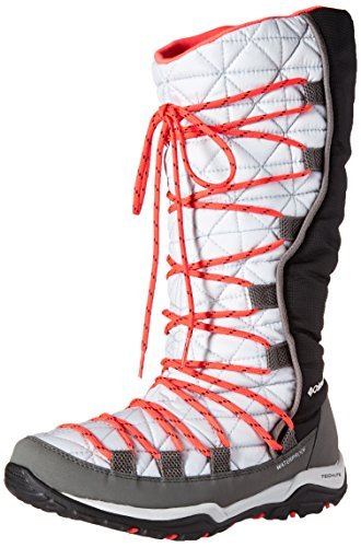 Red Laser Gris Columbia para Botas Heat Nieve 019 Laser Omni 019cool Mujer de Loveland Cool Red Grey Grey PpgaP8x