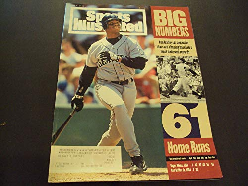 Sports Illustrated June 6 1994 Ken Griffey Jr. Home Runs ()