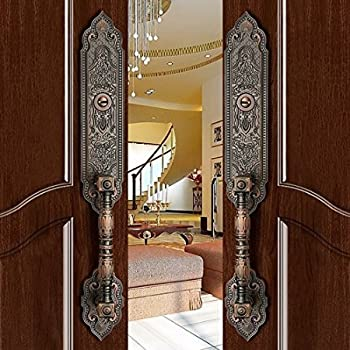 K6847 # Luxurious Mortise Lock Entry Entrance Front Door Handle ...