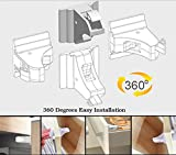 Baby-Proofing-Magnetic-Locks-for-Child-Safety-6-Locks-1-Key-Set-No-Tools-Required-Easy-to-Install-Free-Bonus-Spare-3M-Adhesive-Tape