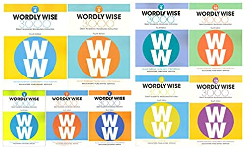 Wordly Wise 3000 4th Edition 9 Books SET Book 4 12 Direct