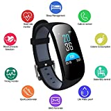 Uwinmo Fitness Tracker, Activity Tracker with Heart Rate Monitor Waterproof Smartwatch with Blood Pressure Monitor, Pedometer Fitness Watch Compatible with Android and IOS for Kids Women Men