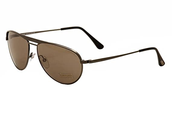 a44ea5f9e84c Amazon.com: Tom Ford Sunglasses - William / Frame: Gunmetal Lens ...