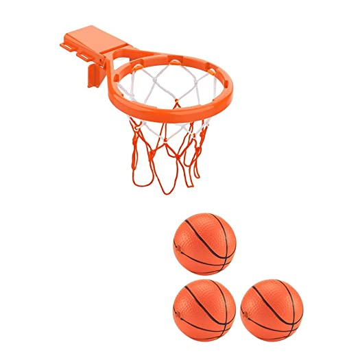 Juego de cesta y pelotas de baloncesto 2 en 1, diseño con 3 ...