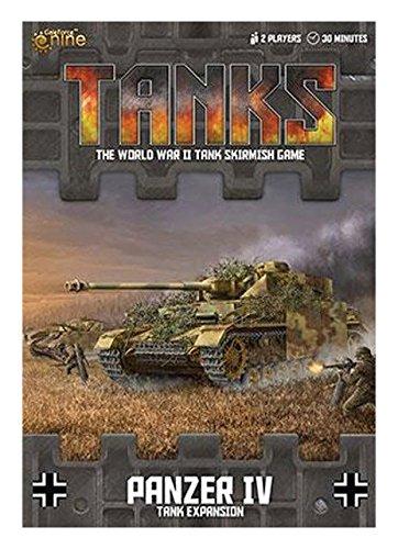 Tanks: German Panzer IV Tank Expansion Board Game (Iv German Tank Panzer)
