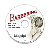 Barbering Vintage Books Collection 24 PDF E-Books on 1 CD Shaving, Cutting Ha