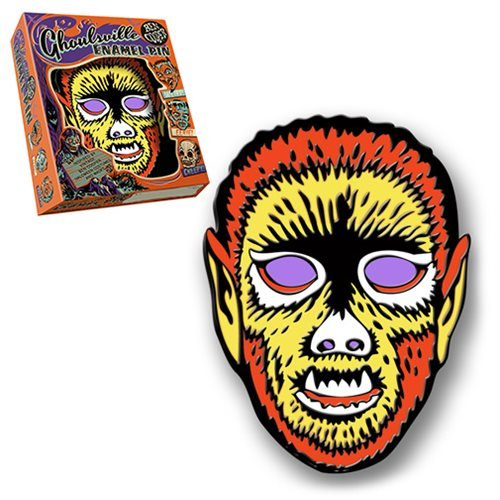Ben Cooper Ghoulsville Electric Wolfman Lapel Pin
