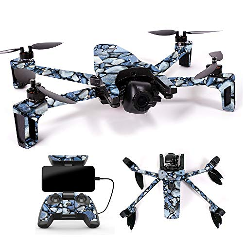 MightySkins Skin for Parrot Anafi Drone - Rocks | Protective, Durable, and Unique Vinyl Decal wrap Cover | Easy to Apply, Remove, and Change Styles | Made in The USA