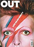 The David Bowie + Art & Design Issue l Gay & Lesbian Interest - April, 2013 Out