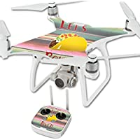 Skin For DJI Phantom 4 Quadcopter Drone – Lets Taco Bout It | MightySkins Protective, Durable, and Unique Vinyl Decal wrap cover | Easy To Apply, Remove, and Change Styles | Made in the USA