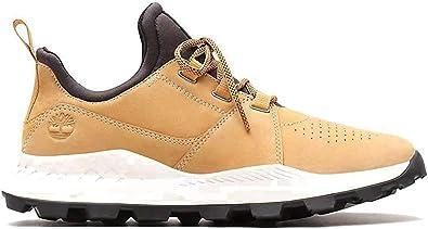 Timberland Brooklyn Lace Oxford Sneakers Uomini Grano Sneakers Basse
