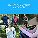 N-rit Compression Cooling Arm Sleeves for Men and
