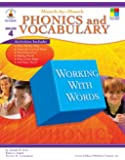 Month-by-Month Phonics and Vocabulary, Grade 4