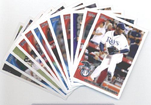 2010 Topps Baseball Cards Tampa Bay Rays Team Set Update (Series 3) 12 Cards Including Rafael Soriano, Carl Crawford, John Buck, Jose Bautista, Evan Longoria, David Price & more! (Tampa Buck Bay)